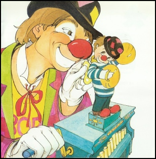 clown dessin animé clowns cartoon