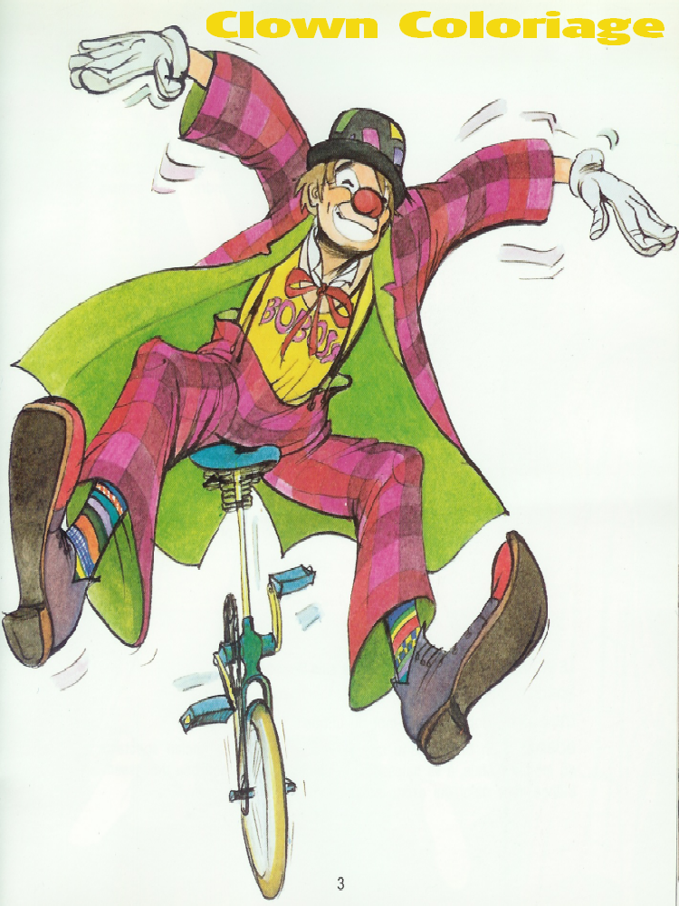 Clown Coloriage Clowns Dessin Clown à Imprimer Circus Clown